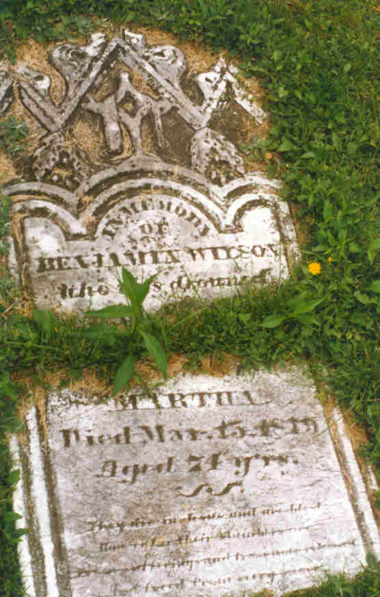 Benjamin and Martha Wilson